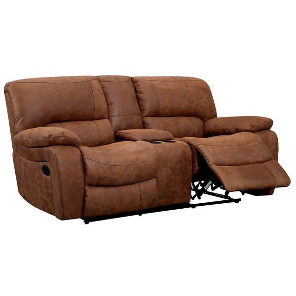 Bethune Glider Reclining Sofa by Hokku Designs