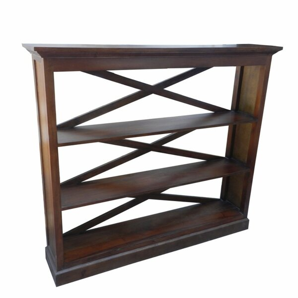 Ikner Sturdy Wooden Etagere Bookcase with 3 Open Shelves by August Grove
