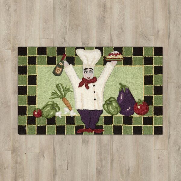 Arpdale Green Area Rug by Charlton Home