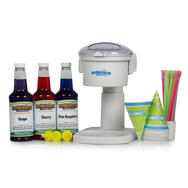 Snow Cone Machine and Party Package by Hawaiian Shaved Ice