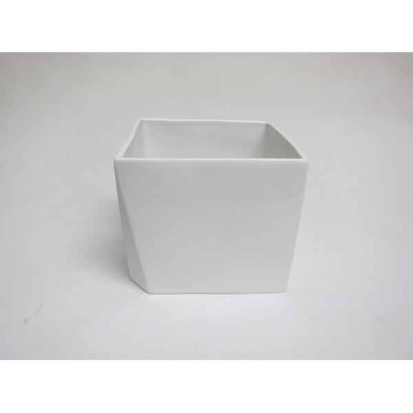 Porcelain Square 5 Oz. Food Storage Container by Bahari