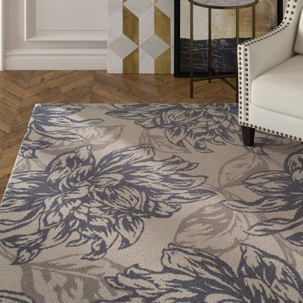 Bromford Gray Indoor/Outdoor Area Rug by House of Hampton