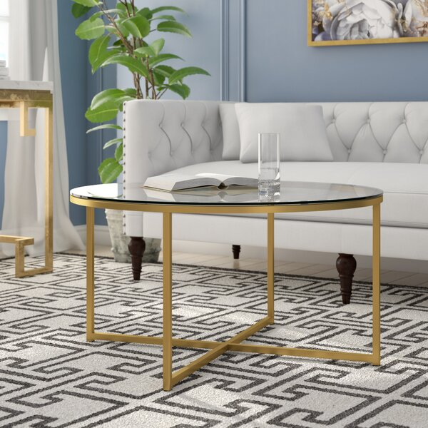 Andrew Coffee Table by Everly Quinn