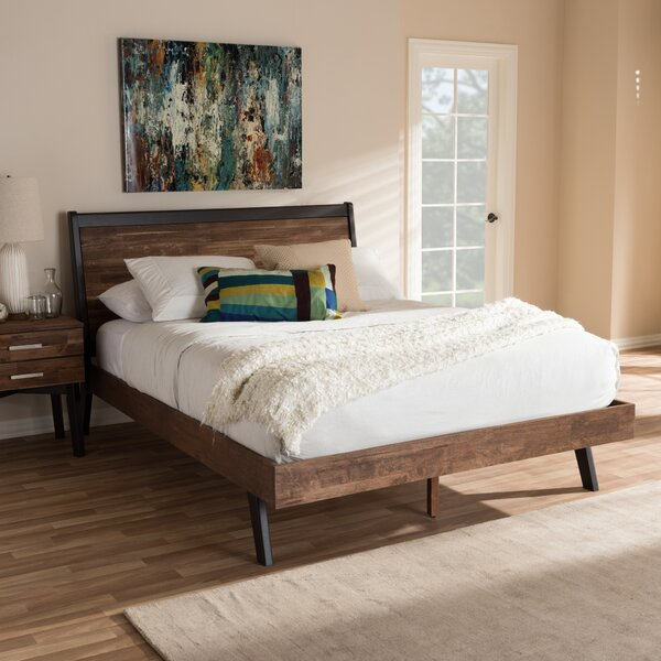 Bilokur Queen Platform Bed by Ebern Designs