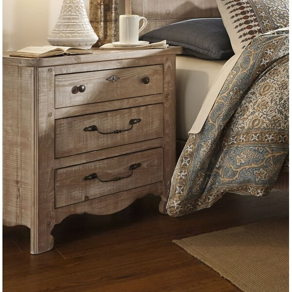 3 Drawer Nightstand By Feminine French Country by Feminine French Country Coupon