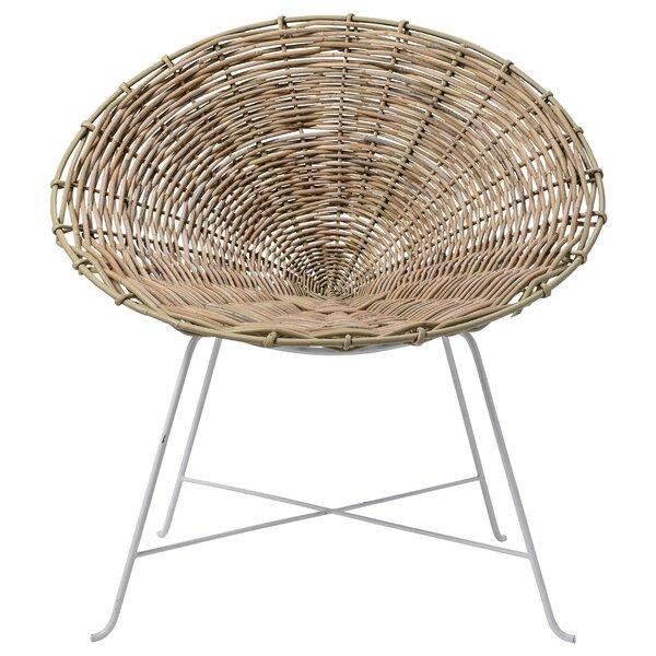 Poulsen Papasan Chair by Bungalow Rose
