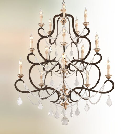 Beaman 15-Light Candle Style Tiered Chandelier by Astoria Grand Astoria Grand