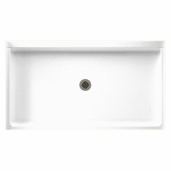 Veritek 34 x 60 Single Threshold Shower Base by Swan
