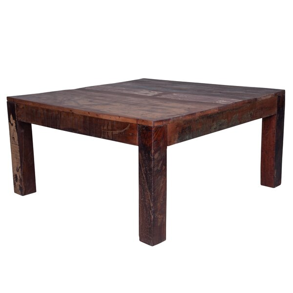 Woodbridge Solid Wood Coffee Table By World Menagerie