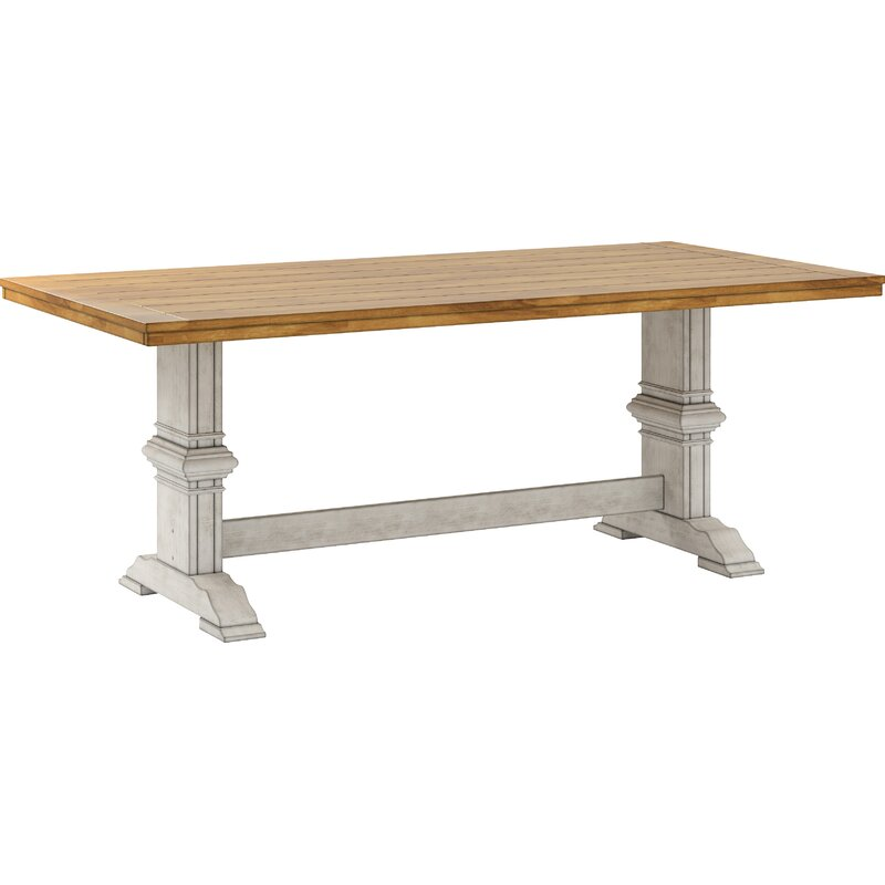 Callisburg Rubber Solid Wood Dining Table