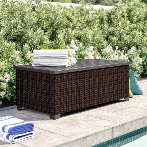 Tegan Wicker Deck Box by Sol 72 Outdoor Sol 72 Outdoor