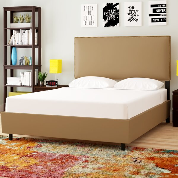 Dolloff Upholstered Standard Bed by Brayden Studio