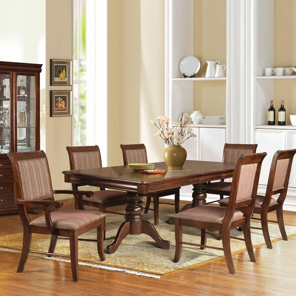 Poppy 7 Piece Dining Set by Alcott Hill