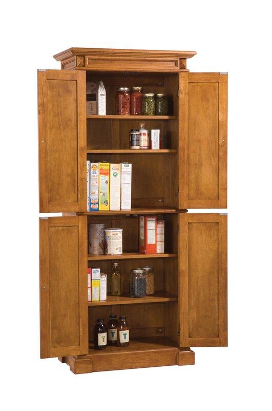 Darby Home Co Ramon 72 Kitchen Pantry Reviews Wayfair