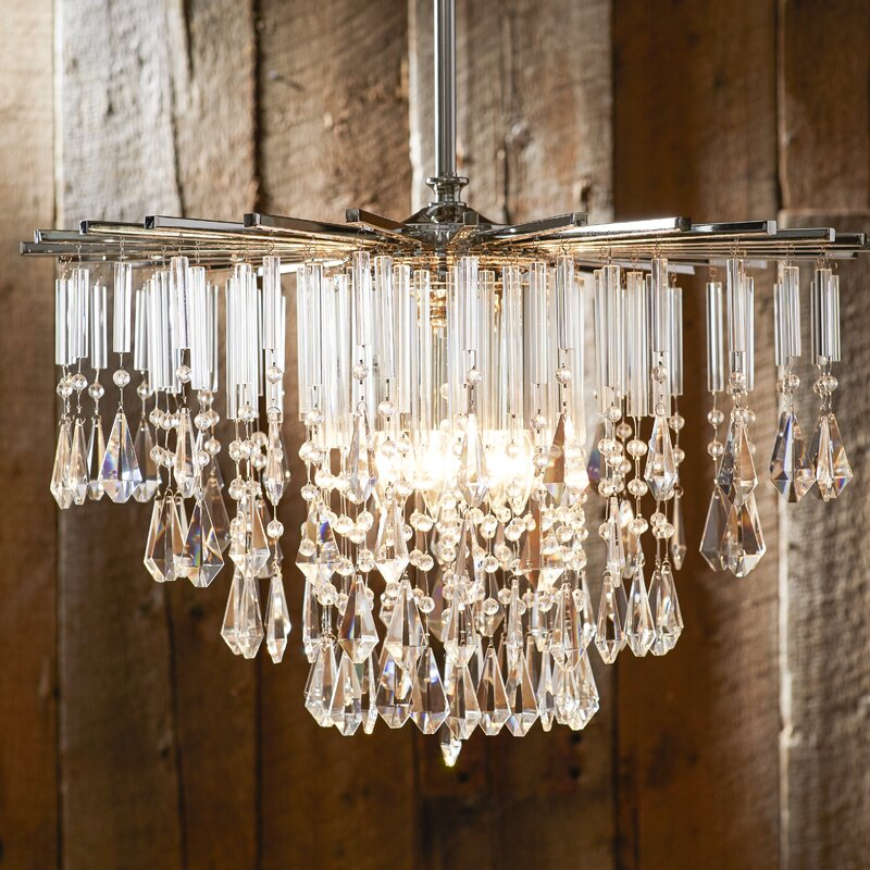 Caldwell crystal chandelier