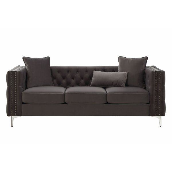 Elmo Chesterfield Sofa by House of Hampton