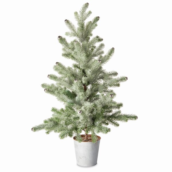 36 Green Pine Trees Artificial Christmas Tree by The Holiday Aisle