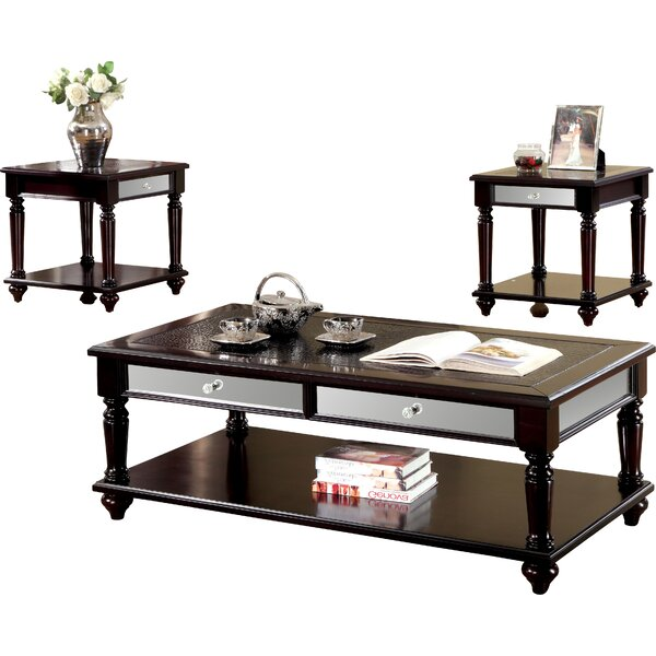 Rushford 3 Piece Coffee Table Set By Darby Home Co
