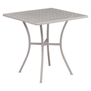 Find for Siobhan Metal Dining Table By Ebern Designs
