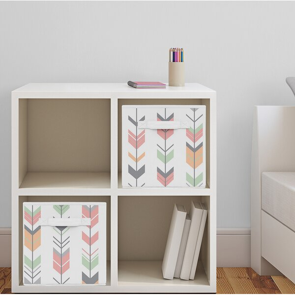 Arrow Fabric Storage Cube by Sweet Jojo Designs