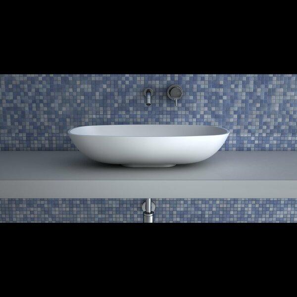 Gamma Rectangular Vessel Bathroom Sink by Maestro Bath