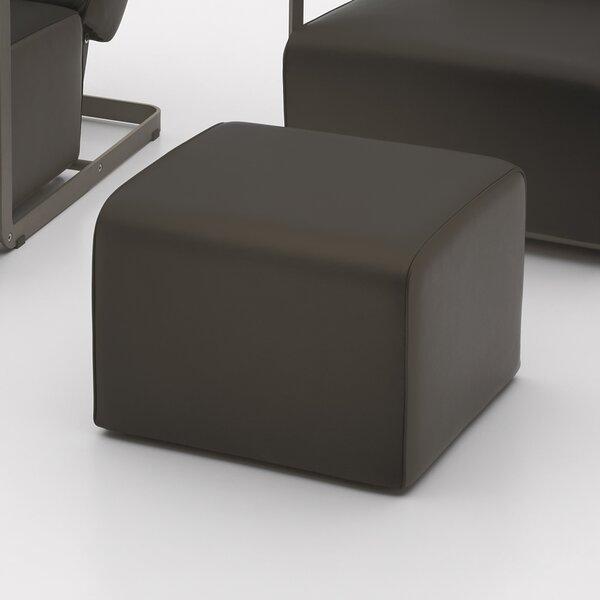 Glorenza Leather Ottoman by Argo Furniture
