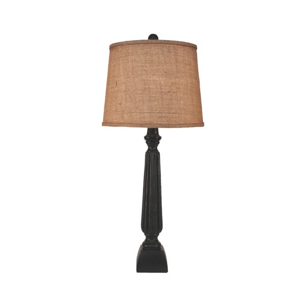 Winchester Ribbed Candlestick 31 Table Lamp by Bay Isle Home