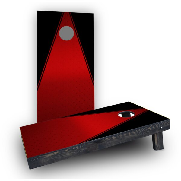 Triangles Cornhole Boards (Set of 2) by Custom Cornhole Boards
