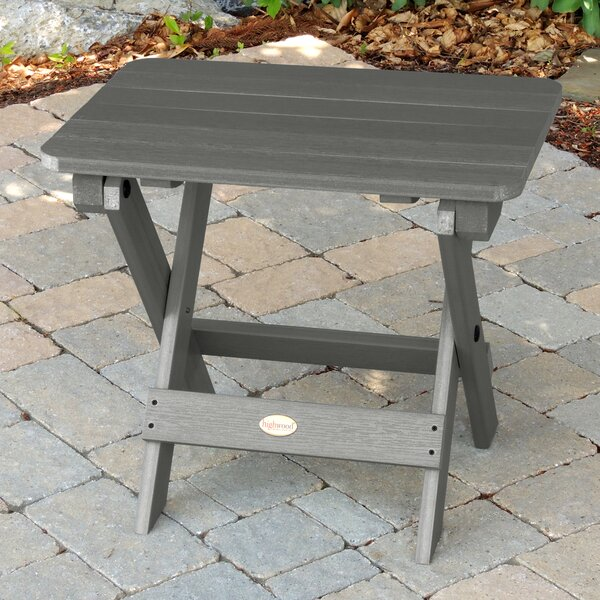 Anette Folding Plastic Side Table By Sol 72 Outdoor by Sol 72 Outdoor Sale