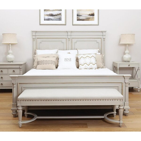 Brookston Queen Panel Bed by Fine Furniture Design