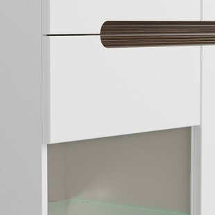 Roanoke 3 Drawer 1 Door Accent Cabinet
