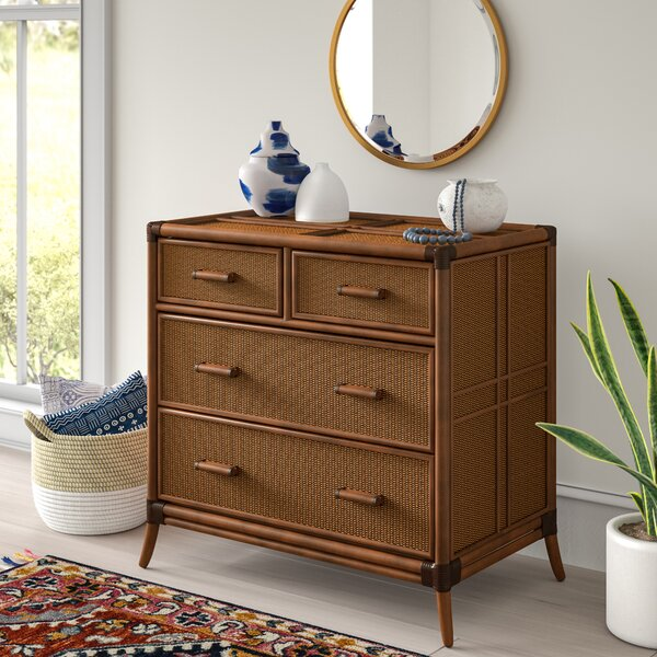 Lamont 4 Drawer Split Chest by Bay Isle Home