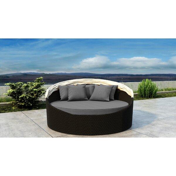 Gillham Patio Daybed with Cushion by Orren Ellis Orren Ellis