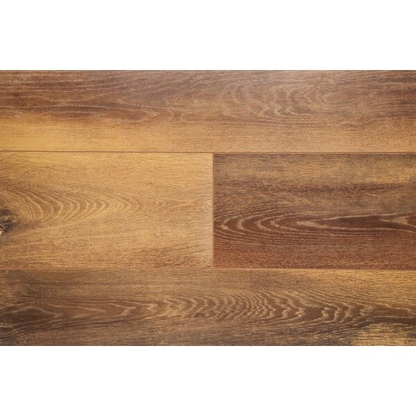 6 x 48 x 12mm Laminate Flooring in Nutmeg by Chic Rugz