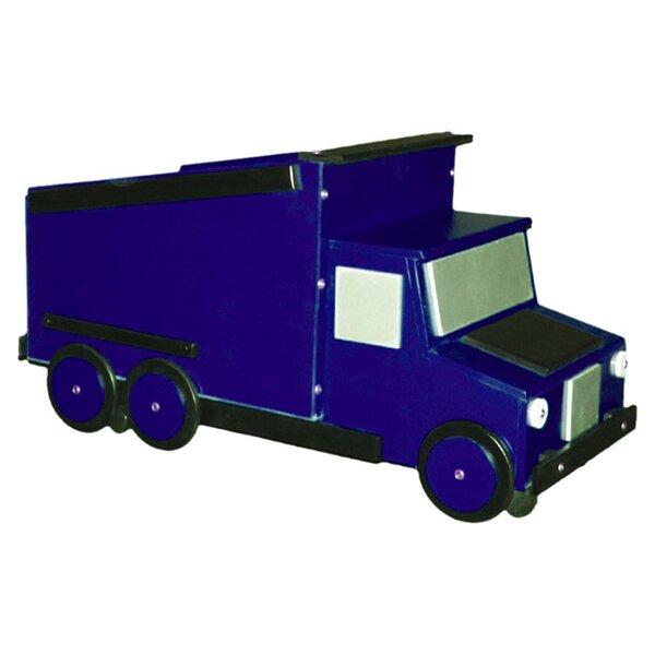 Dump Truck Toy Box by Just Kids Stuff