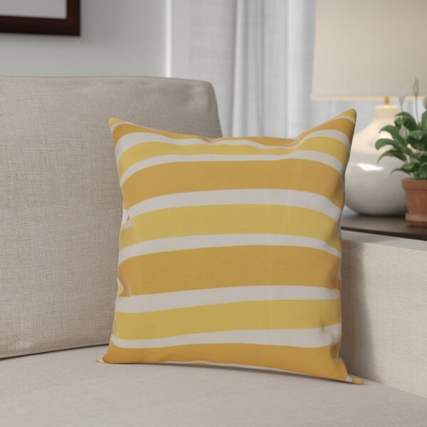 Hanukkah 2016 Decorative Holiday Striped Outdoor Throw Pillow by The Holiday Aisle