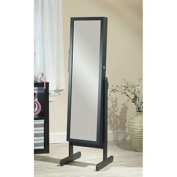 Hallsten Free Standing Jewelry Armoire with Mirror by Red Barrel Studio