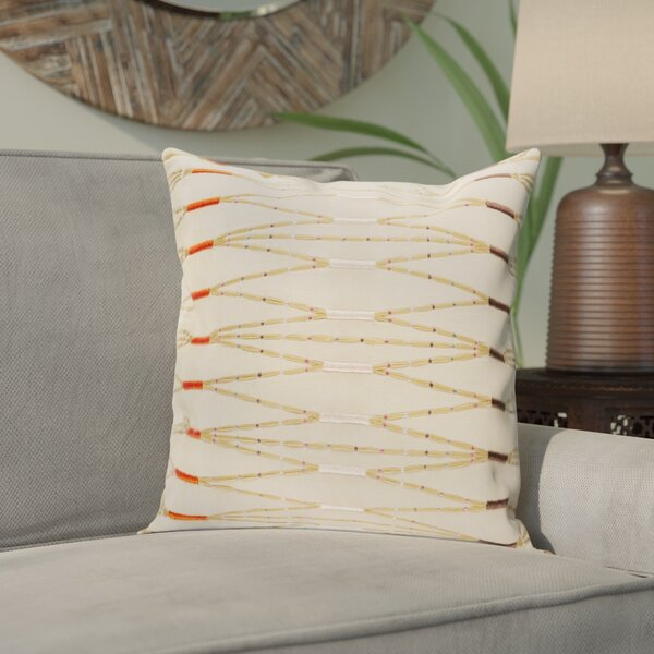 Chiara Cotton Pillow Cover By Bungalow Rose.
