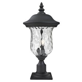 Bargain Cashwell Traditional Outdoor 2-Light Pier Mount Light By Darby Home Co