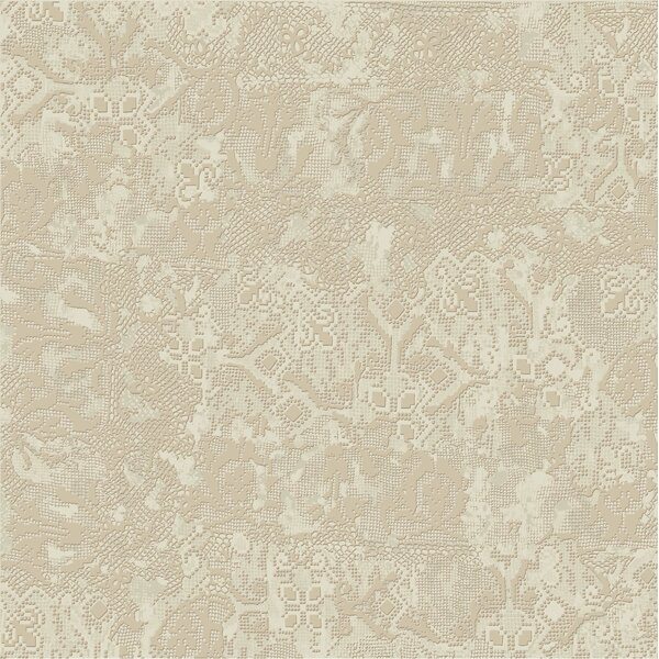 Tapis 23.5 x 23.5 Porcelain Field Tile in Creme by The Bella Collection