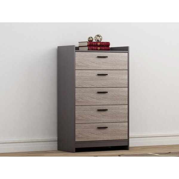 Van Buren 5 Drawer Chest by Ebern Designs