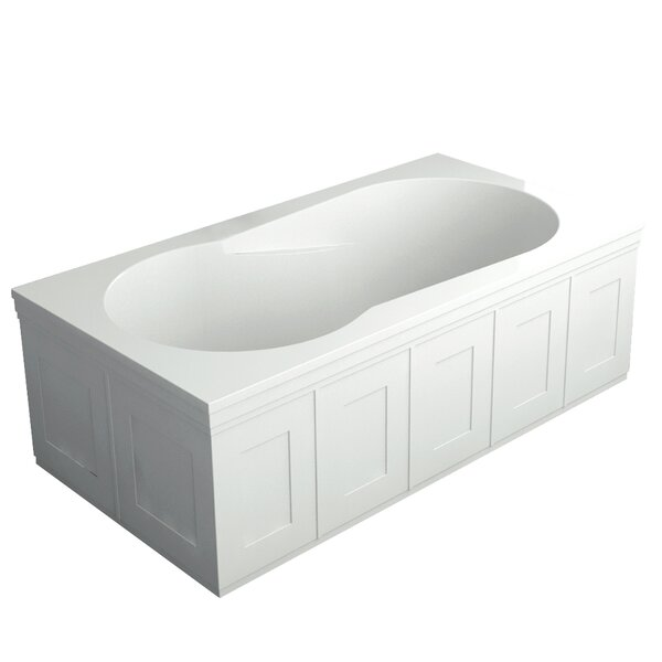 Brookfield 60 x 32 drop in/Undermount Bathtub by Transolid