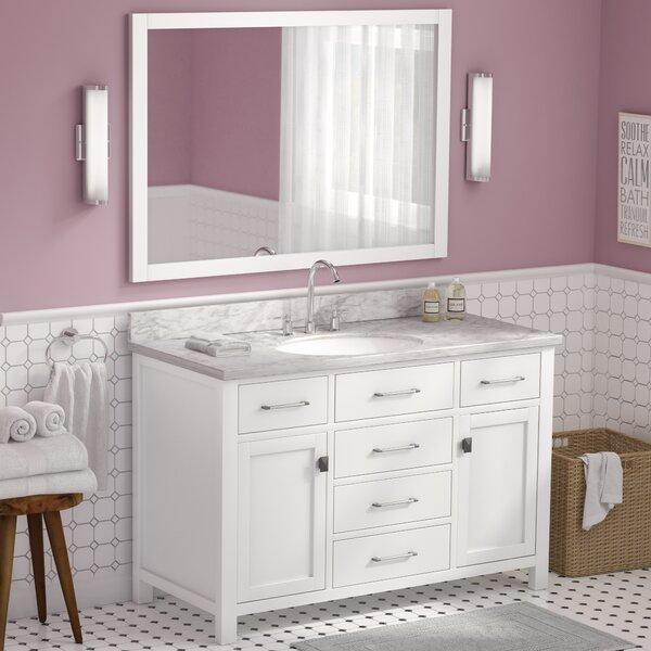 Kenilworth 48 Single Bathroom Vanity Set with Mirror by Highland Dunes