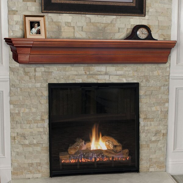 The Lindon Fireplace Shelf Mantel By Pearl Mantels