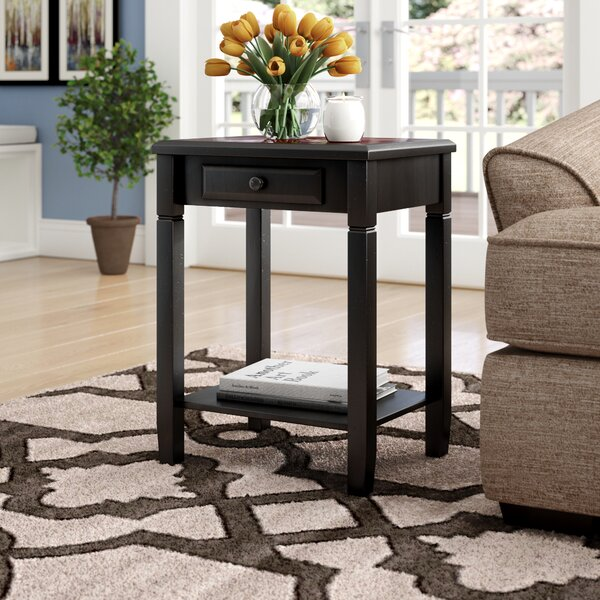 Cobos End Table With Storage By Winston Porter
