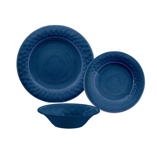 Ewert 12 Piece Melamine Dinnerware Set, Service for 4 by Beachcrest Home