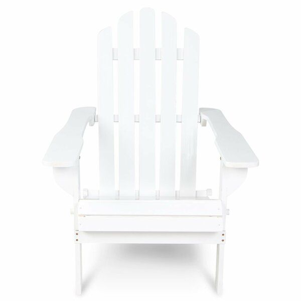 Khiry Wooden Adirondack Chair by Highland Dunes