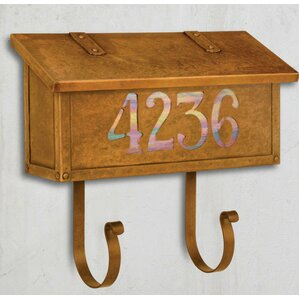 classic wall mounted mailbox - Wall Mount Mailboxes