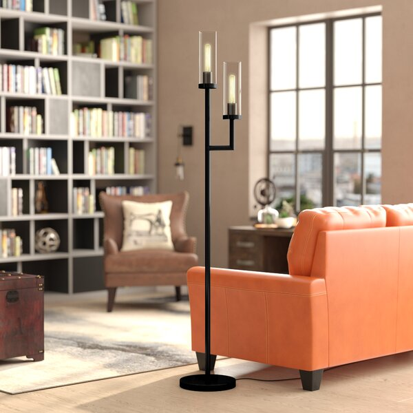 Singleton 72 LED Torchiere Floor Lamp by Williston Forge