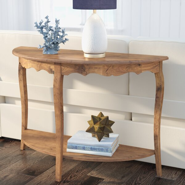 Deals Price Joanna Solid Wood Console Table